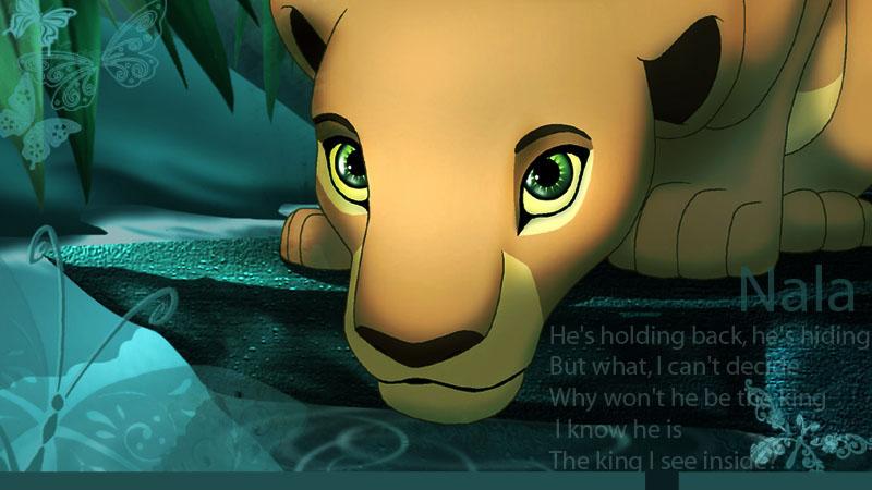 roi lion nala